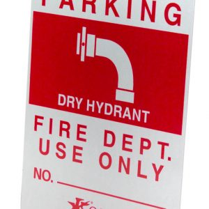 ReflectiveDryHydrantSign